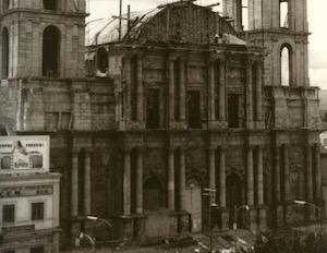 La Catedral de Toluca en su etapa final de construcción (Foto: Diócesis de Toluca).