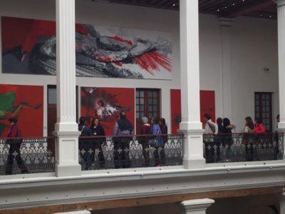 """El Museo de Bellas Arte del Estado de México alberga la exposición """"Leopoldo Flores. Hombre Universal"""". Foto: Cortesía."""